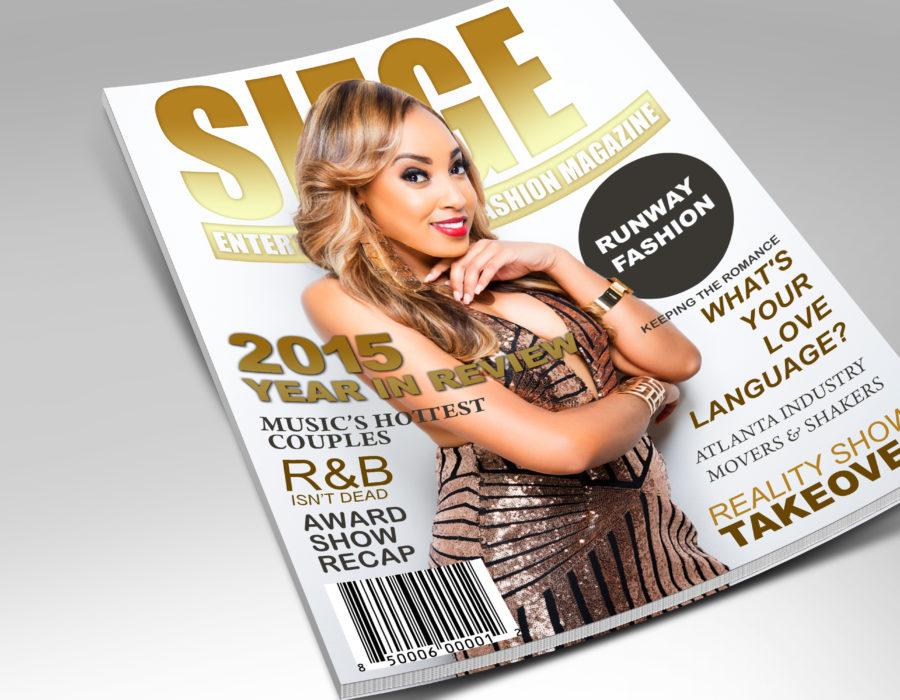 SIEGE Magazine Cover Concept